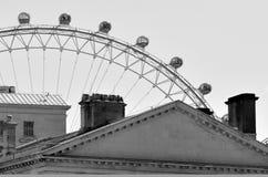 Μάτι του Λονδίνου - Λονδίνο UK Στοκ Φωτογραφίες