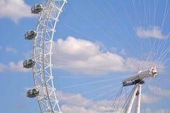 Μάτι του Λονδίνου - Λονδίνο UK Στοκ εικόνα με δικαίωμα ελεύθερης χρήσης