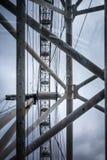Μάτι του Λονδίνου - μεγάλη ρόδα Στοκ Εικόνες