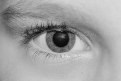 μάτι Στοκ φωτογραφία με δικαίωμα ελεύθερης χρήσης
