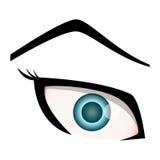 Μάτι διανυσματική απεικόνιση