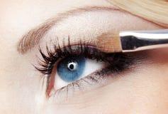 μάτι makeup Στοκ Φωτογραφία