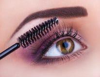 Μάτι Makeup Στοκ εικόνα με δικαίωμα ελεύθερης χρήσης