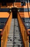 μάχης μπλε χρωμάτων βαθιά ναυαρχίδων hms trafalgar νίκη ουρανού Λόρδου Nelson πλούσια Στοκ Εικόνες