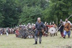 μάχη έτοιμη Στοκ Εικόνες