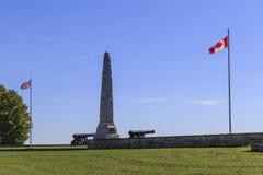 Μάχη του αγροτικού μνημείου Crysler ` s Στοκ Εικόνες