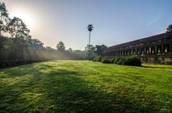 Μάχη των Θεών - Angkor Wat Στοκ φωτογραφία με δικαίωμα ελεύθερης χρήσης
