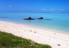 Μάχη των πολεμικών λειψάνων Tarawa Στοκ εικόνες με δικαίωμα ελεύθερης χρήσης