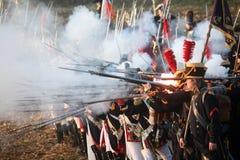 μάχη austerlitz του 2009 Στοκ φωτογραφίες με δικαίωμα ελεύθερης χρήσης
