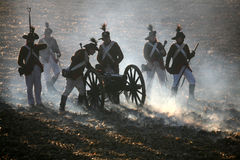 μάχη austerlitz του 2009 Στοκ εικόνα με δικαίωμα ελεύθερης χρήσης