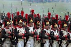 Μάχη Borodino Στοκ φωτογραφία με δικαίωμα ελεύθερης χρήσης