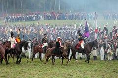 Μάχη Borodino Στοκ Φωτογραφίες
