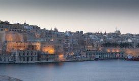 Μάλτα από το λιμάνι Στοκ Εικόνα