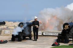 Μάλτα, η γραφική πόλη Valletta Στοκ εικόνα με δικαίωμα ελεύθερης χρήσης