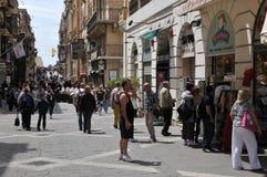 Μάλτα, η γραφική πόλη Valletta Στοκ φωτογραφίες με δικαίωμα ελεύθερης χρήσης