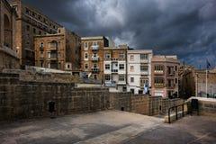 Μάλτα valletta Παλαιά πόλη πετρών Στοκ φωτογραφίες με δικαίωμα ελεύθερης χρήσης