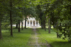μέγαρο αλεών παλαιό Στοκ Φωτογραφία