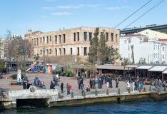 Μέγαρο σουλτάνων της Esma, ένα ιστορικό μέγαρο ακτών, Bosphorus, Στοκ Εικόνες