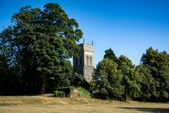 Μέγαρο Christchurch στους λόγους του πάρκου στο Ίπσουιτς Σάφολκ Στοκ φωτογραφίες με δικαίωμα ελεύθερης χρήσης