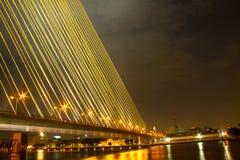 Μέγα γέφυρα σφεντονών, Rama 8 Στοκ Εικόνες