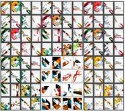 Μέγα συλλογή της επιχείρησης 100 εταιρικής απεικόνιση αποθεμάτων