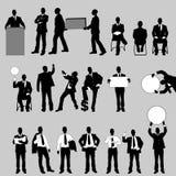 Μέγα συλλογή του ατόμου είκοσι επιχειρήσεων Στοκ εικόνα με δικαίωμα ελεύθερης χρήσης
