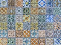 Μέγα σύνολο σχεδίων κεραμικών κεραμιδιών τοίχων Στοκ φωτογραφία με δικαίωμα ελεύθερης χρήσης