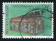 Μέγγενη εκκλησιών Hadelin των λαρνάκων Στοκ Εικόνα