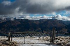 Μέγιστη διαδρομή ισθμών στη Νέα Ζηλανδία, Wanaka Στοκ εικόνα με δικαίωμα ελεύθερης χρήσης