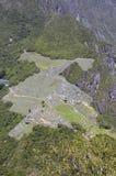 μέγιστη όψη picchu machu huayna Στοκ φωτογραφία με δικαίωμα ελεύθερης χρήσης