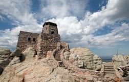 Μέγιστος πύργος επιφυλακής πυρκαγιάς Harney στο κρατικό πάρκο Custer στους μαύρους λόφους της νότιας Ντακότας στοκ φωτογραφία