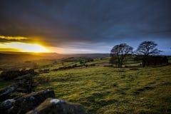 Μέγιστο ηλιοβασίλεμα τοπίων περιοχής στοκ φωτογραφίες με δικαίωμα ελεύθερης χρήσης