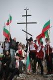 Μέγιστο μνημείο Shipka - ένα σύμβολο της απελευθέρωσης της Βουλγαρίας 3 Μαρτίου είναι η εθνική μέρα της Βουλγαρίας Στοκ φωτογραφία με δικαίωμα ελεύθερης χρήσης