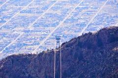 Μέγιστο τραμ Sandia στο Νέο Μεξικό στοκ φωτογραφίες με δικαίωμα ελεύθερης χρήσης