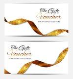 Μέλη πολυτέλειας, πρότυπο καρτών δώρων για την επιχειρησιακή διανυσματική απεικόνισή σας απεικόνιση αποθεμάτων