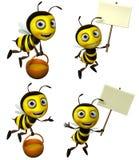 Μέλισσα κινούμενων σχεδίων Στοκ Φωτογραφία
