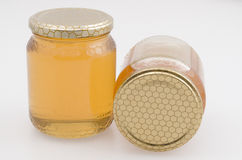 Μέλι ακακιών, και wildflowers διανυσματική απεικόνιση
