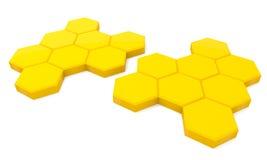 μέλι κυττάρων Στοκ Φωτογραφίες