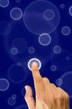 μέλλον κουμπιών Στοκ Φωτογραφία