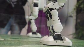 Μέλλον υψηλής τεχνολογίας και έννοια επιστήμης Έξυπνος χορός ρομπότ Humanoid Χορεύοντας ρομπότ Μελλοντική έννοια τεχνολογίας στοκ φωτογραφία με δικαίωμα ελεύθερης χρήσης