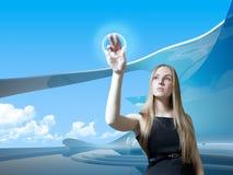 μέλλον sweetie που αγγίζει Στοκ φωτογραφία με δικαίωμα ελεύθερης χρήσης
