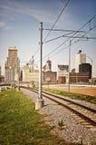 Μέμφιδα με το τραίνο στοκ φωτογραφία με δικαίωμα ελεύθερης χρήσης