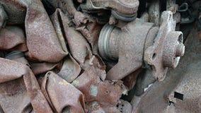 Μέρη αυτοκινήτων ανακύκλωσης στοκ εικόνες
