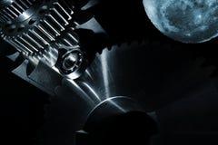 Μέρη διαστημικής τεχνολογίας και εφαρμοσμένης μηχανικής Στοκ εικόνες με δικαίωμα ελεύθερης χρήσης