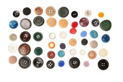 μέρη κουμπιών Στοκ φωτογραφία με δικαίωμα ελεύθερης χρήσης