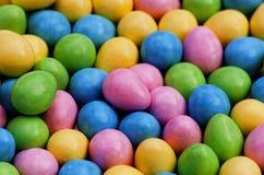 Μέρη των αυγών Πάσχας καραμελών. Στοκ Εικόνες