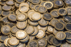Μέρη των ευρο- νομισμάτων Στοκ εικόνες με δικαίωμα ελεύθερης χρήσης