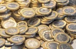 Μέρη των ευρο- νομισμάτων Στοκ φωτογραφία με δικαίωμα ελεύθερης χρήσης