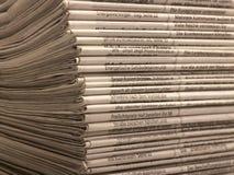 Μέρη των εφημερίδων Στοκ εικόνες με δικαίωμα ελεύθερης χρήσης