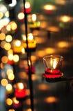 Μέρη των κεριών Στοκ φωτογραφία με δικαίωμα ελεύθερης χρήσης